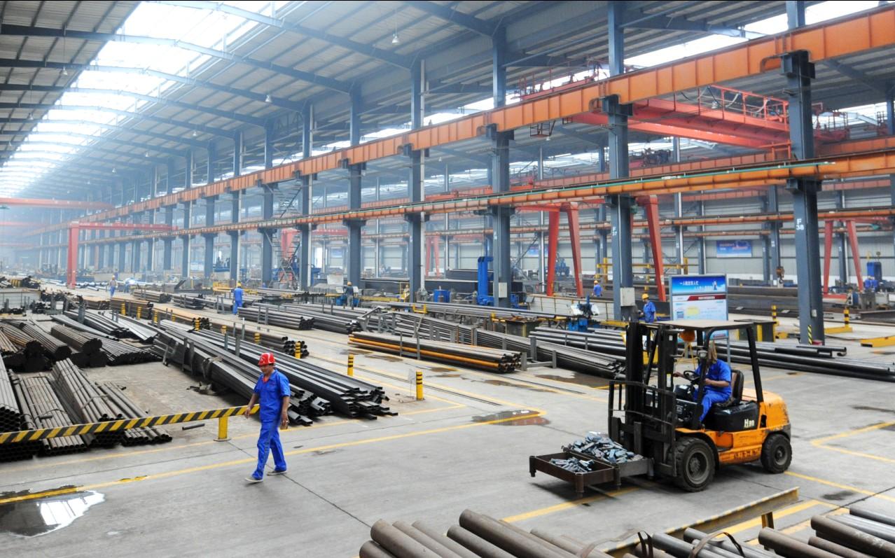 钢结构加工车间